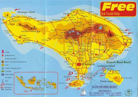 large bali maps     print high