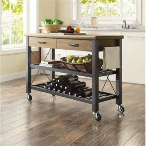kitchen mobile islands kitchen island cart storage rolling utility portable table