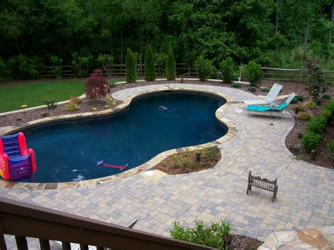 landscape ideas for pool area basic pool designs and landscaping landscape design pool jpg provided by fine edge landscape