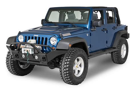 jeep wrangler front rage products front recovery bumper for 07 17 jeep