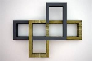 Etagere Bois Design : etagere murale selvie yvar design mobilier ecodesign ~ Teatrodelosmanantiales.com Idées de Décoration