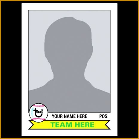 However, different age categories break the groups up according to the size of the diamond. 6 Baseball Card Size Template   FabTemplatez