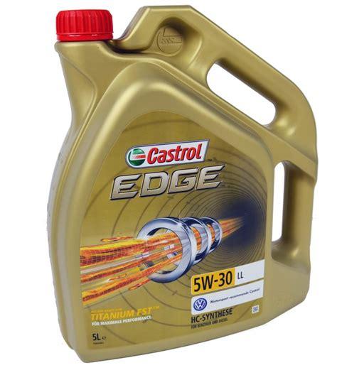 castrol edge motorenöl 5w 30 5l castrol edge fst 5w 30 ll 5l seat 1p1 1 8 tsi 2007 2013 160hp bsr