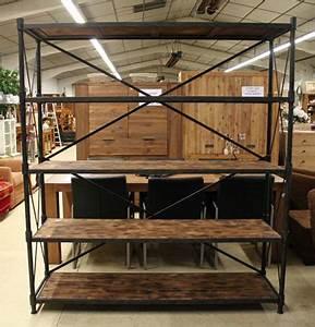 Etagere Style Industriel : les meubles neufs vendus ~ Nature-et-papiers.com Idées de Décoration