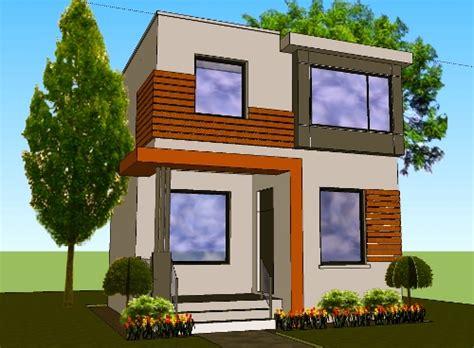 desain rumah minimalis  lantai type  asri  taman