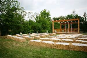 hay wedding straw bale seating for your wedding unconventional but not as as you d think