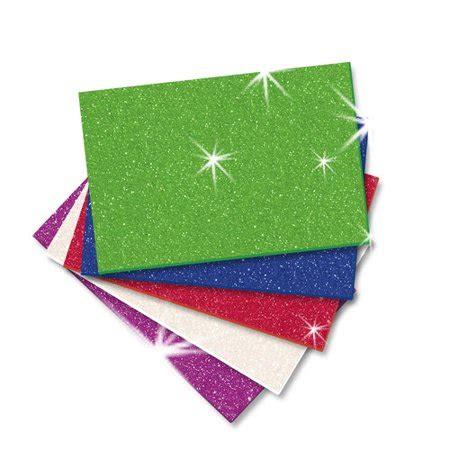 glitter foam sheet vp multi walmart com