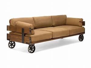 Möbel Industrie Look : sofa im industrie design auf r dern massivholzm bel bei ~ Sanjose-hotels-ca.com Haus und Dekorationen