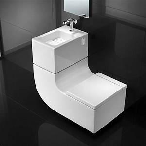 Reservoir Wc Lave Main : ensemble wc suspendu et lave mains w w roca sdebain ~ Melissatoandfro.com Idées de Décoration