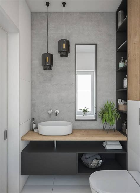 Modern Bathroom Designs Nz by Varying Tones Of Grey Paired With Timber And Gorgeous