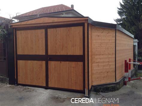 garage box auto garage carport e box auto in legno cereda legnami