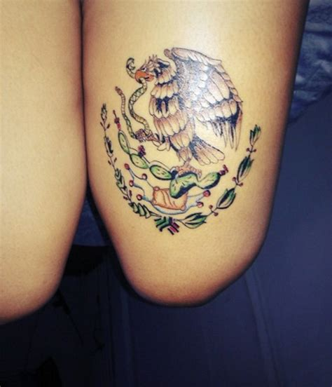 foto de Eagle from the Mexican flag Mexican tattoo Mexico