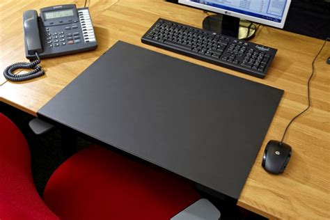 Office Desk Mat by Workstation Accessories Inserta Nameplates Magnetic
