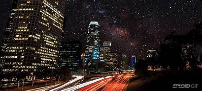 Pollution Cities Would Without Animated Sky Night
