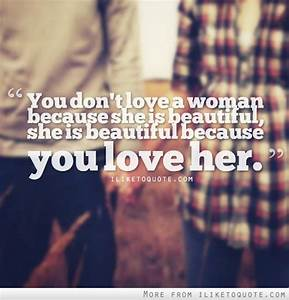 She Is Beautiful Quotes. QuotesGram