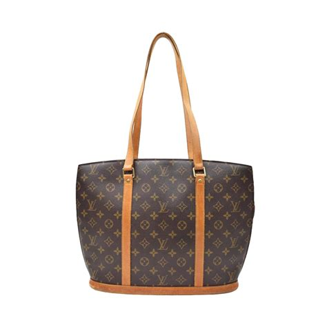 louis vuitton tote bag babylone brown monogram  modsie