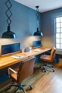 Office, Decorating, Ideas, For, Men, In, Contemporary, Appearance
