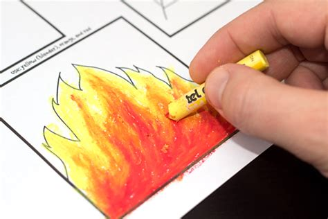 Intro To Pastels For Kids How To Blend With Oil Pastels