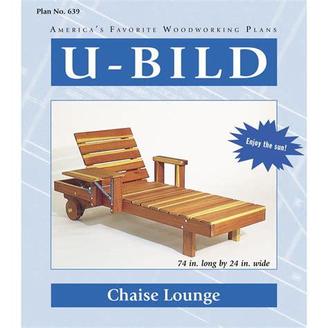 shop  bild chaise lounge woodworking plan  lowescom