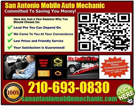 mobile mechanic san antonio    auto repair