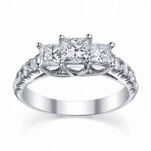 Wedding rings history of three stone engagement rings 2 for Three stone wedding ring set