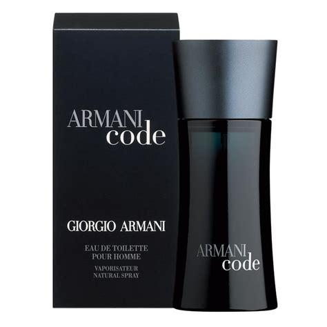 giorgio armani code eau de toilette giorgio armani black code for eau de toilette spray