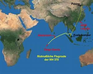 Flugroute Berechnen : mh370 ziel des geplanten anschlags war das chinesische akw ling ao ~ Themetempest.com Abrechnung