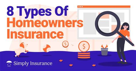 Whatever type of home insurance you need, you can rest assured that you can personalize your policy to your needs. 8 Primary Types Of Homeowners Insurance For 2020 Explained!