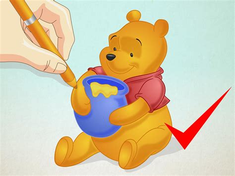 How To Draw Winnie The Pooh 15 Steps (with Pictures