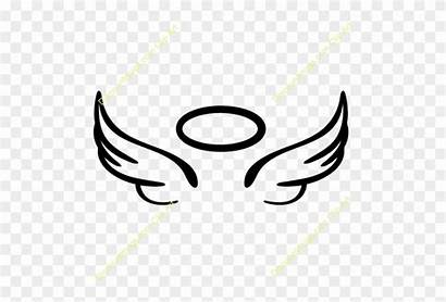 Wings Angel Halo Clipart Easy Drawing Draw