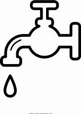 Water Coloring Faucet Clipart Clip Transparent Pinclipart sketch template