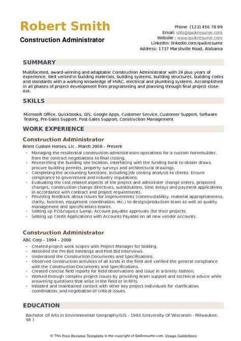 Project Administrator Resume by Building Materials Sales Resume Cv Curriculum Vitae And