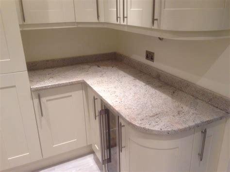 ideas for kitchen worktops installation of kashmir ivory fantacy granite