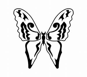Black and white butterfly tattoo designs, sun tattoo ...