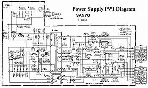 Sanyo Ds 25320 Sanyo Ds25320 Pdf Diagramas De Televisores