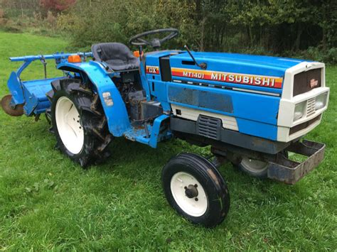 Mitsubishi Compact Tractor by Mitsubishi Mt1401 2wd Compact Tractor With Rotavator Only