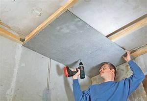 Schallschutz Decke Abhängen : bad umbau decke aus zementbauplatten umbau sanierung ~ Frokenaadalensverden.com Haus und Dekorationen