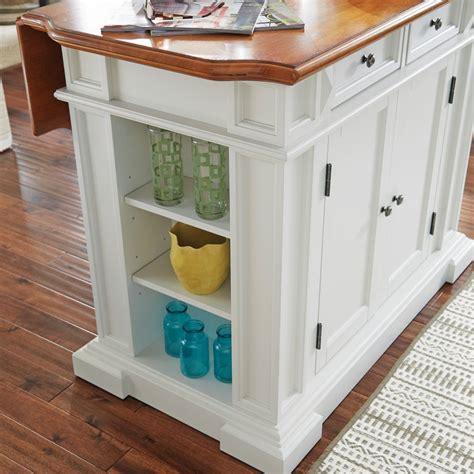 americana kitchen island white americana kitchen island white and distressed oak finish 4046