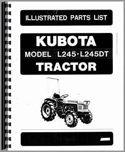 Kubota L245 Tractor Parts Manual