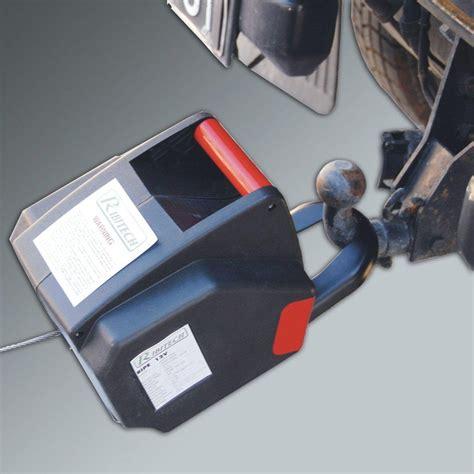 seilwinde 12v anhängerkupplung ribimex elektrische seilwinde 12v moma technik webshop