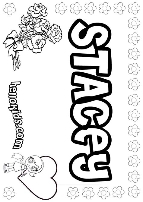 stacey coloring pages hellokidscom