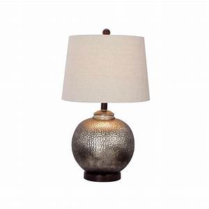 Fangio Lighting 24 in Antique Brown Mercury Glass and Oil