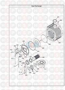 Potterton Promax Combi 33 He Plus A  Heat Exchanger  Diagram