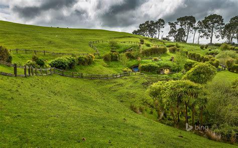 Hobbiton, near Matamata, North Island, New Zealand ...