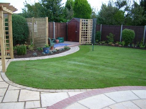 Back Garden Patio Designs by Patio With Summerhouse Search Landscape