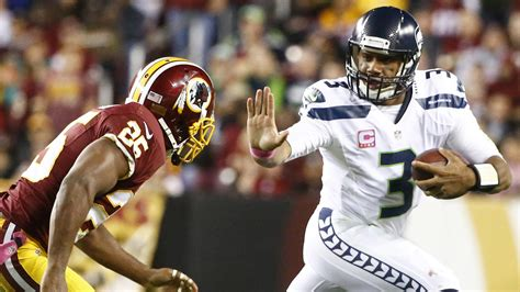 road   seahawks record russell wilsons top  wins
