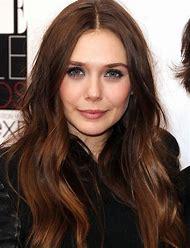 Elizabeth Olsen Brown Hair