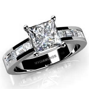 jewelers engagement rings grazia princess cut engagement ring
