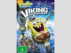 SpongeBuddy Mania SpongeBob DVD and VHS VikingSized