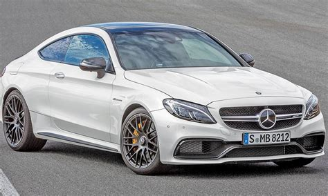 '17 Mercedes-amg C63 Coupe Adds Power, Price